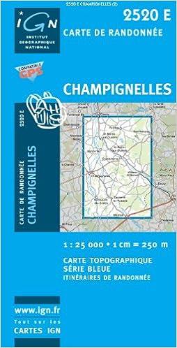 Livre Carte de randonnée : Champignelles pdf
