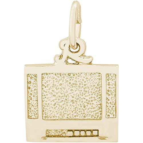 Rembrandt Charms 14K Yellow Gold Tv Flatscreen Charm (0 x 0 inches)