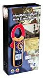 Ruby Electronics DT-3353 Digital 1000A AC 3-Phase Watt Volt Current True RMS Power Clamp Meter with USB Interface