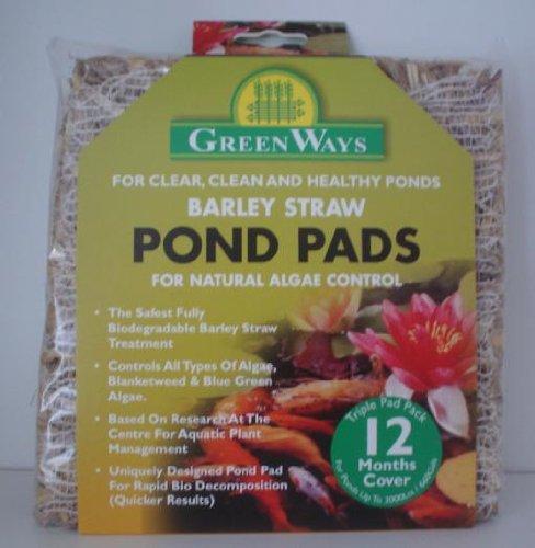Barley Straw Algae Control Pads for Ponds
