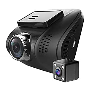 ampulla cruiser dual dash cam super hd 1296p. Black Bedroom Furniture Sets. Home Design Ideas