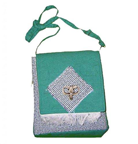 Chinesische Handtasche Schulter Durch K&#246rper Tasche 100% von Stamm Frauen Handgemacht # 542 - Freier Versand, Weltweit
