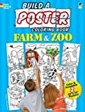 Build a Poster Coloring Book--Farm & Zoo (Dover Build A Poster Coloring Book)