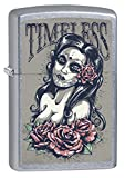Zippo Lighter: Timeless, Day of the Dead - Street Chrome 76422