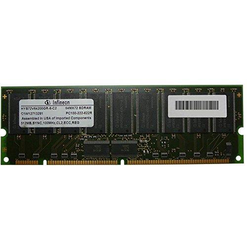 - Edge Memory 512mb (1x512mb) Pc100 Ecc Registered 168