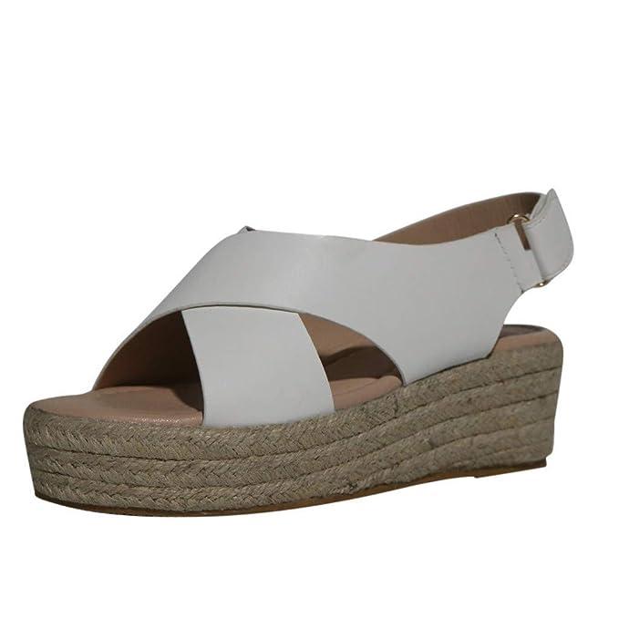 Para De Cuña MujerZapatos sandalias Casuales sandalias Sandalias thQrCxsd