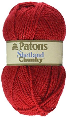 patons-shetland-chunky-yarn-red-robin