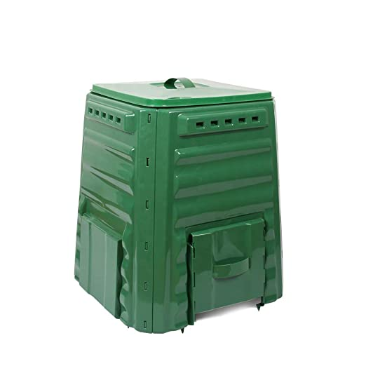 GGYSSY Contenedor de compostaje de jardín 220L, Convertidor de ...
