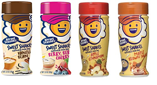 Amazon.com  Kernel Season s Sweet Shakes Mix-ins Variety Pack- 1 Maple  Brown Sugar, 1 Berry Berry Cherry, 1 Apple Cinnamon, 1 Vanilla Bean (3oz  ea.)  05775a4ecde
