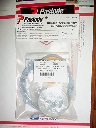 Pneumatic Repair Parts Tool - Paslode 219426 F350S & F250S PREMIUM REBUILD KIT