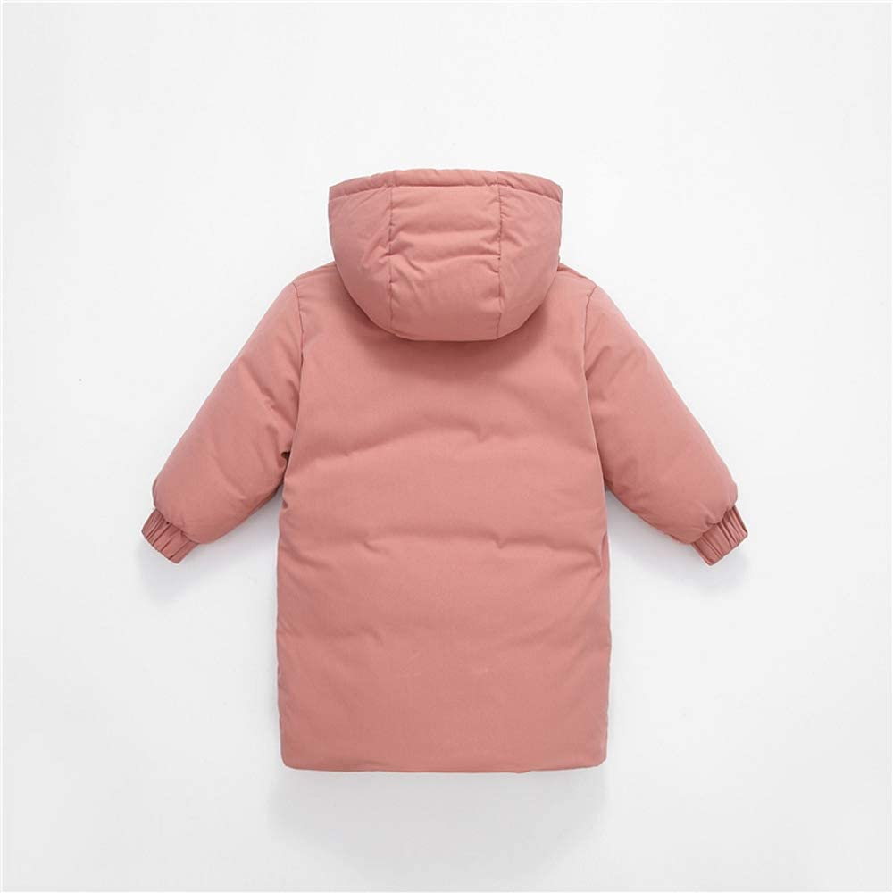 Warm Children Long Sleeve Cotton Thicken Jacket Outerwear for Baby Boy//Girl Fullyday Winter Kids Solid Hooded Coat