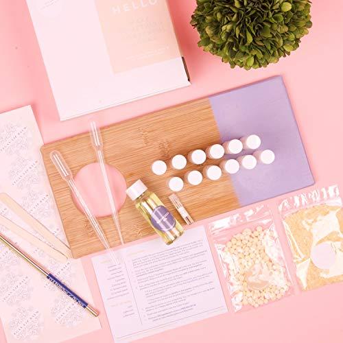True Vegan Lip Balm DIY Kit, Makes 12 Nourishing Lip Balms w
