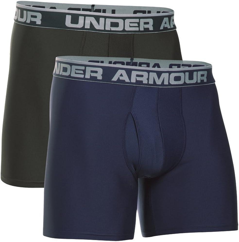 2-Pack XL Navy Under Armour Mens UA Original Series 6 Boxerjock
