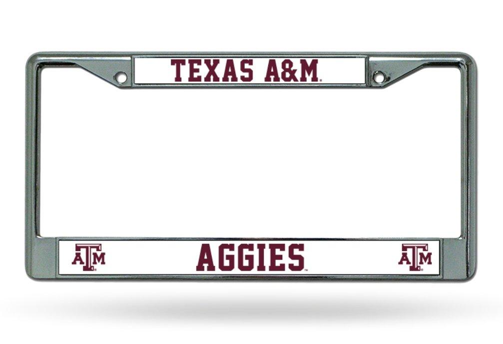 NCAA Texas A/&M Aggies Chrome Plate Frame Rico Industries Inc FC260203