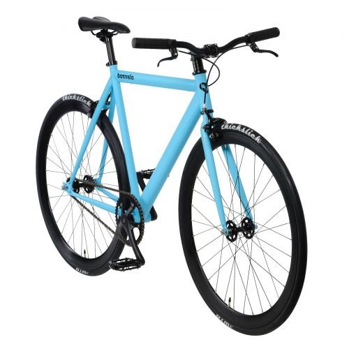 bonvelo Singlespeed Fahrrad Blizz Into The Blue (Large / 56cm für Körpergrößen von 170cm bis 181cm)