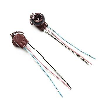 FXCO 2 pezzi 3157 4157 portalampada freno freccia luce Harness filo spina