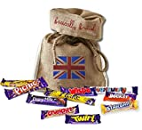 Please note that the outer packaging may vary on each company. The selection box comes in a Union Jack See Through Box- Simply British Ltd