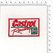IRON ON EMBROIDERED PATCH CASTROL RACING