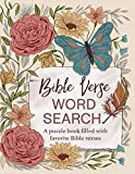 Bible Verse Word Search: A Puzzle Book Filled With