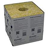 Grodan Wholesale Case Gro-Blocks Plant Containers Hugo with Hole, 48 Count