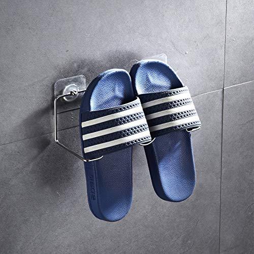 CHLCH Zapatillas de baño de Acero Inoxidable, Perchero ...