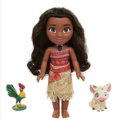 Amazon.com: Juego, Divertido, Boneca Vaiana Moana Collar ...