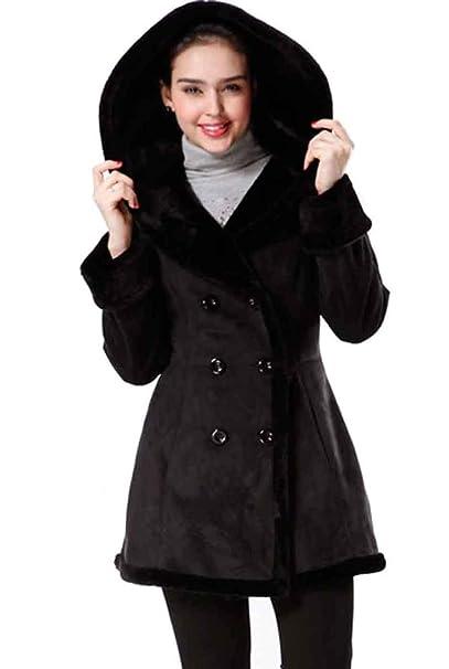 Amazon.com: BGSD - Abrigo con capucha para mujer: Clothing