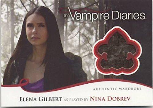 Vampire Diaries Season 2 Elena Gilbert (Nina Dobrev) Wardrobe Relic Card