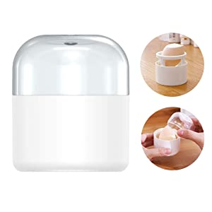 Makeup Sponge Travel Carrying Case Cosmetic Puff Ball Protective Container Beauty Blender Holder Egg Powder Puff Drying Stand (No Sponge Included)