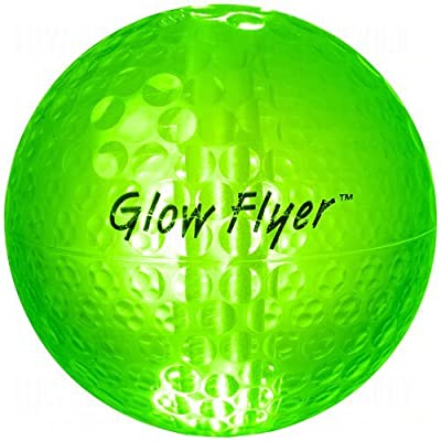 Night Golf Ball with 2 Pack Green Glow Sticks