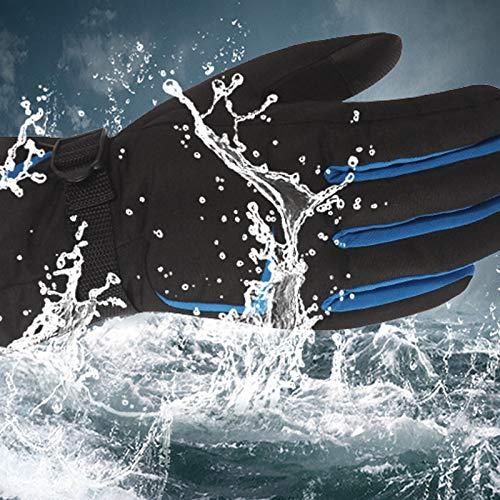 Amdxd Écran Coupe De Femmes Ski vent Gris Étanche Gants Plein Air Coton Tactile Équitation PZAPrq6