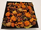 Nature's Lot (Autumn Medley Fall Potpourri Handmade In Lancaster County PA. Mini Pumpkins, Rosehips and Beautiful Botanicals, 28-32 oz by volume