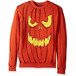 Halloween Jack O' Lantern Crew Neck Sweater