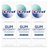 Beauty : Crest Gum Detoxify Deep Clean Toothpaste, 4.1 oz, Triple pack