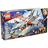 LEGO - MARVEL - CAPITÃ MARVEL E O ATAQUE SKRULL - 307 PCS - 76127