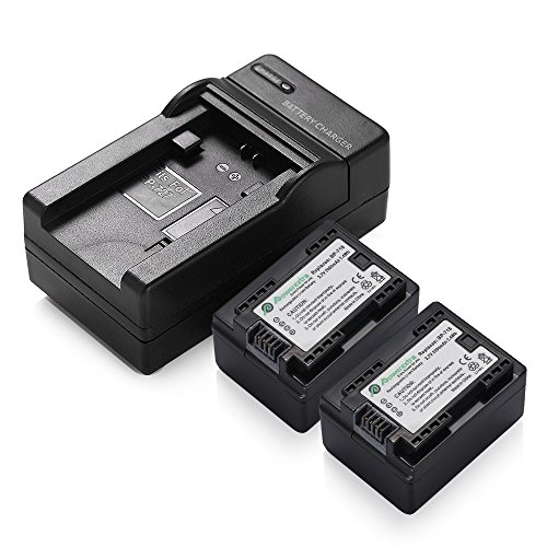 Powerextra Twin Pack 3.7V 2000mAh BP-718 Battery for Canon Camcorders