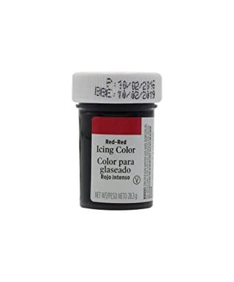 Wilton Red Gel Food Colouring - For Cakes and Cupcakes: Amazon.co.uk ...
