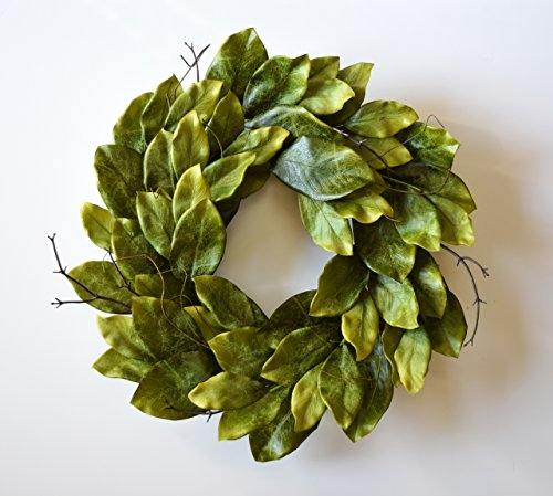Mills Floral Southern Magnolia Wreath 24