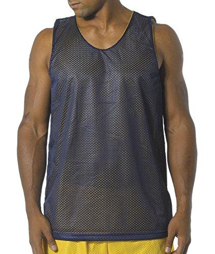 maglia nf1270 Nf1270 oro nvw Canotta reversibile in A4 per uomo blu txS848