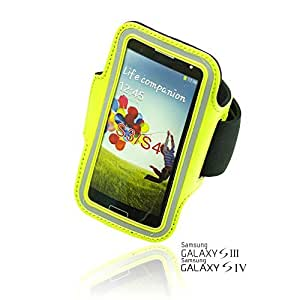 OnlineBestDigital - Sports Running Jogging Gym Armband Case Holder for Samsung Galaxy S3 III I9300 - Green
