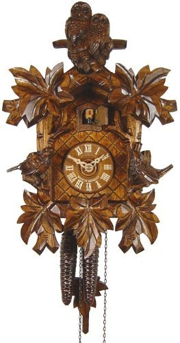 Control Brands 1630 Owl Cuckoo Clock44; As It Is - 20.25 in.