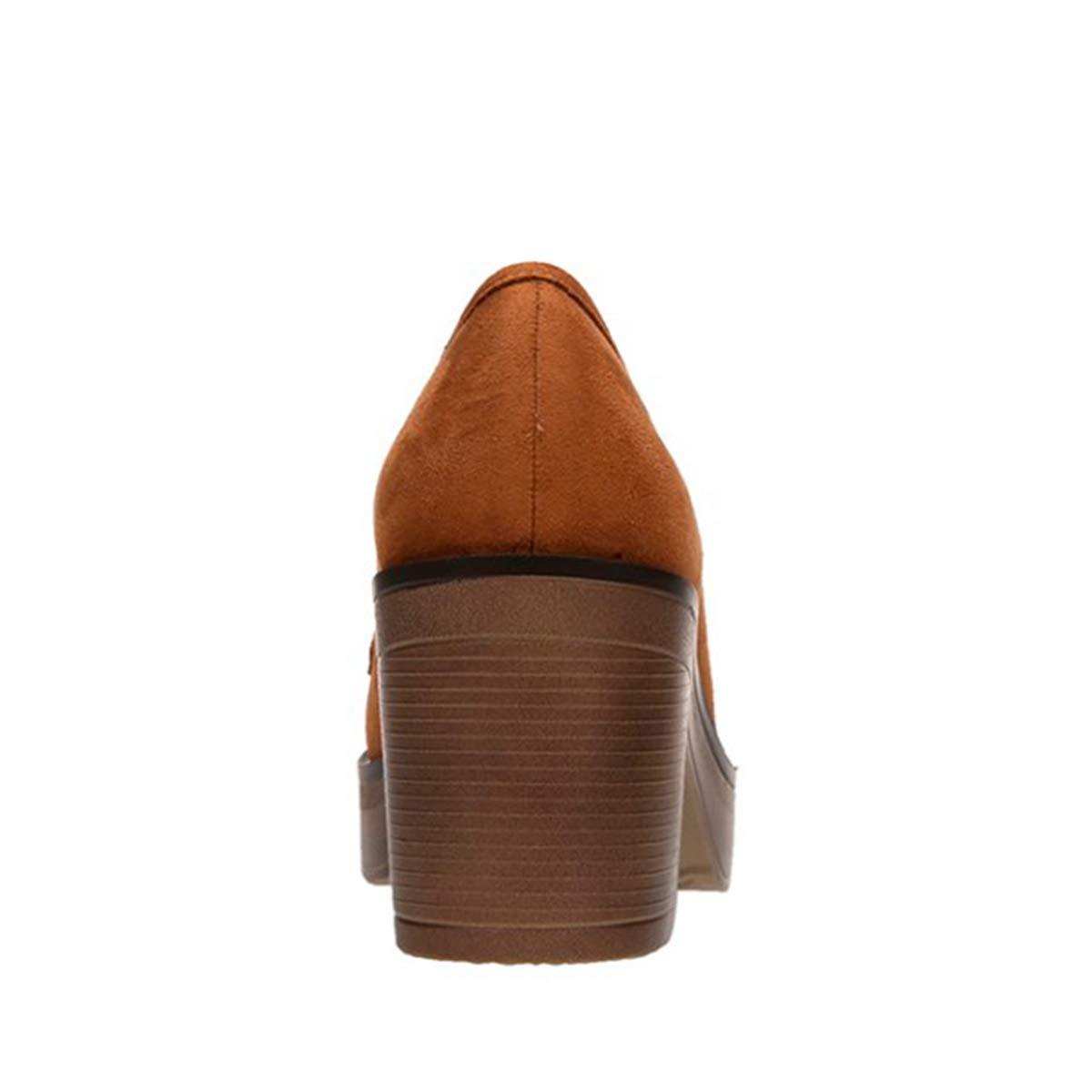 Mocasines con tacón para Mujer (41 EU): Amazon.es: Zapatos y complementos