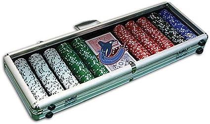 Nhl poker chips set