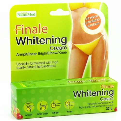 Finale Whitening Organic Natural Herbal Cream Armpit Inner Thigh Elbow Knee 30 G.