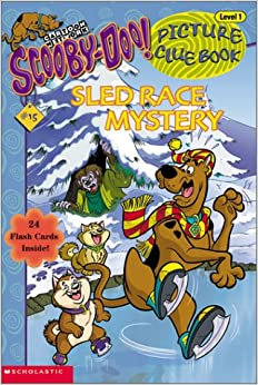 Sled race mystery scooby doo picture clue - Race de scooby doo ...
