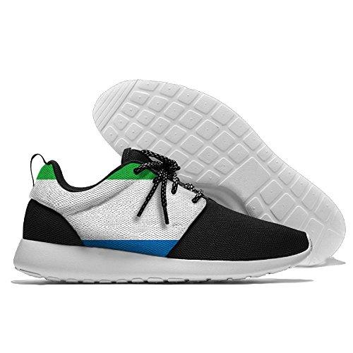 Herenvlag Van Sierra Leone Joggingschoenen Sportschoenen Casual Schoenen