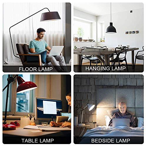 24 Pack A19 LED Light Bulb, 60 Watt Equivalent, Daylight 5000K, E26 Medium Base, Non-Dimmable LED Light Bulb, UL Listed 7