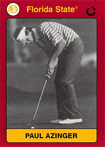 Paul Azinger Golf Card (FSU, Florida State Seminoles) 1991 Collegiate Collection #181 (Azinger Memorabilia Paul)