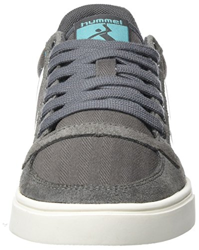 Hummel Damen SL. Stadil Herringbone Low Sneakers Grau (Castle Rock)