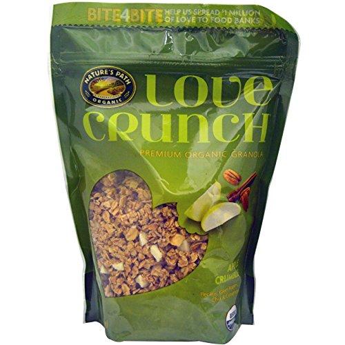 Natures Path, Love Crunch, Premium Organic Granola, Apple Crumble, 11.5 oz (325 g) (Pack Of 2 ) -